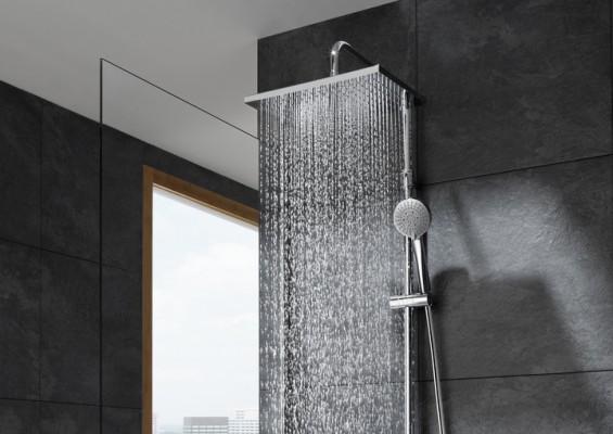 Colección de duchas y columnas Even-T