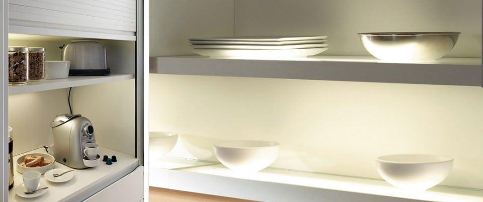 Muebles de cocina xey cocinas de dise o aram interiors - Iluminacion muebles cocina ...