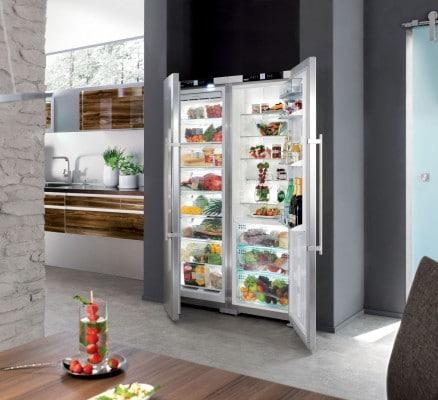 Frigorifico y congelador integrables de Liebherr