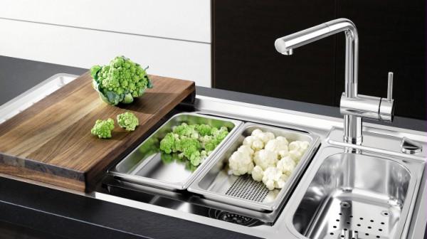Fregaderos y grifer a blanco calidad y dise o alem n - Griferia cocina blanco ...