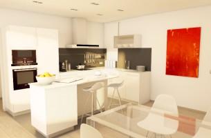 Reforma cocina ático