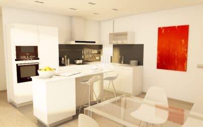 Reforma cuina àtic Barcelona