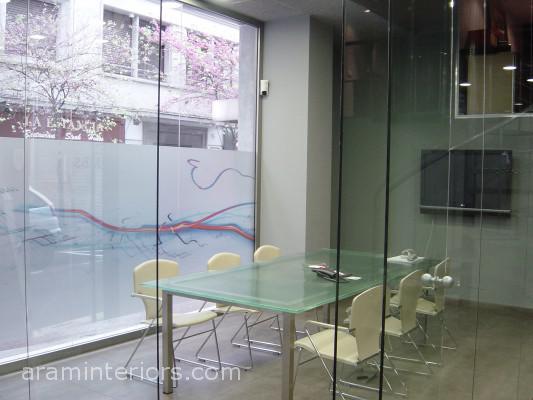 Reforma local en Barcelona - Sala de reuniones