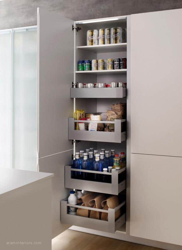 Los pr cticos accesorios interiores para muebles de cocina - Muebles accesorios cocina ...