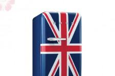 Frigorífico Smeg FAB10RUJ con la bandera inglesa