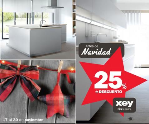 Cocinas Xey promoción del 17 al 30 de Noviembre