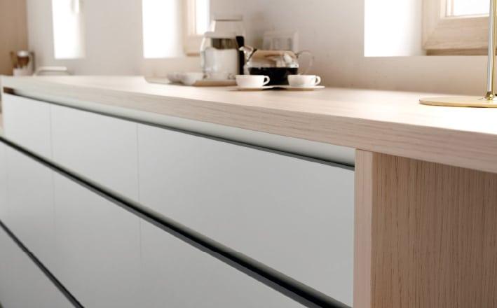 Imagen modelos de puertas de cocina