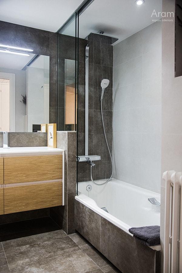 Vista banyera bany Sarrià