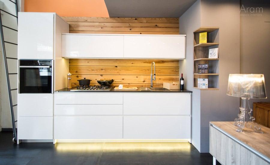 Nuestro espacio outlet aram interiors - Exposicion cocinas barcelona ...