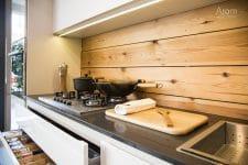 Vista placa cuina exposició