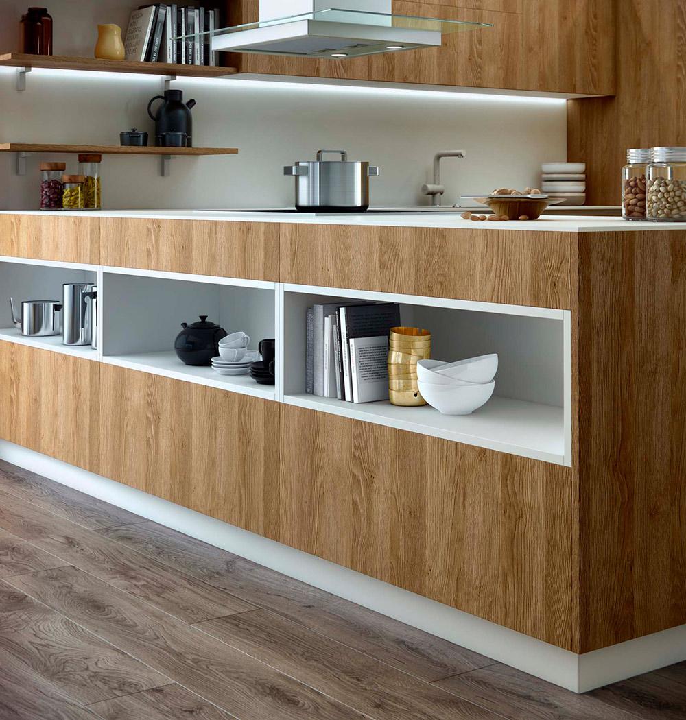 Cocinas modernas aram interiors - Cocinas con peninsula ...