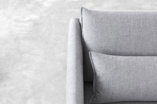 Stua Costura sofa sillón cojin gris