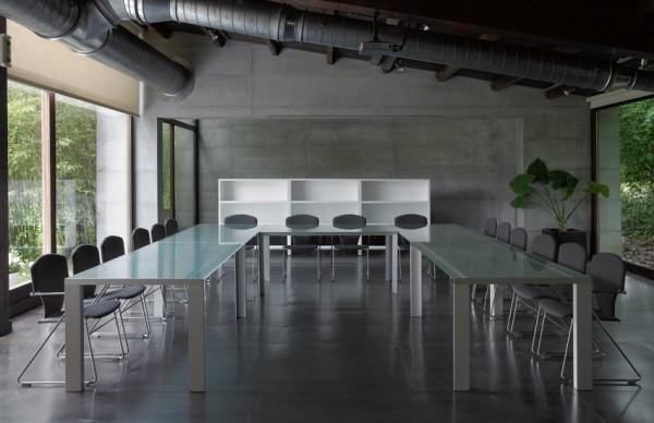 Mesa Deneb mesa para salas de reuniones