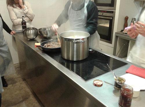 Cocinando en el taller de Neff