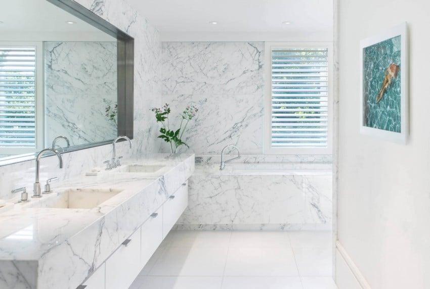 Baño principal de la casa